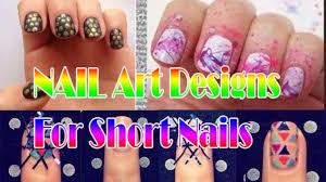 nail art designs for short nails at home short nails art design