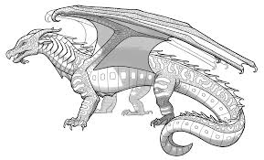 killer croc coloring pages seawings wings of fire wiki fandom powered by wikia