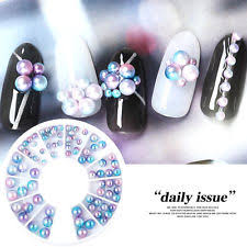 unbranded mermaid nail art pearls ebay