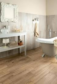Laminate Floor Coverings Bathroom Good Looking Modern Decoration Using White Ld Slate