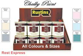 rustins chalky finish paint vintage shabby chic chalk paint all