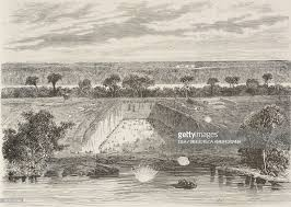 siege gap works on the gap canal siege of richmond pictures getty images