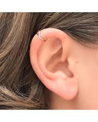 best earrings for cartilage find the best deals on gold mini ear cuff braided non