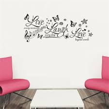 online get cheap lovely quotes aliexpress com alibaba group live laugh love quote wall stickers new design removable sticker vinyl wall decorative stickers home decoration