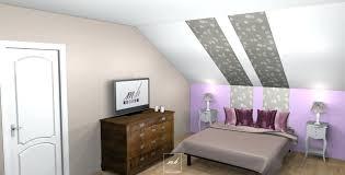 amenagement chambre sous pente deco chambre sous pente chambre et salle de bain sous combles ree