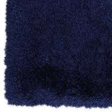 Blue Shaggy Rug Blue Senses Shag Accent Rug 27x42 In At Home At Home