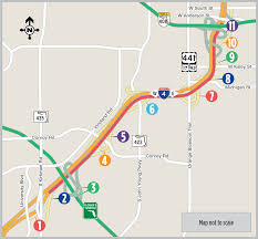 Florida Toll Road Map by Nightly Eastbound I 4 Rolling Roadblocks From Kirkman Rd To Sr