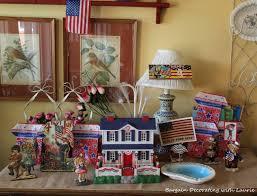 Home Decor Bargains Bargain Decorating With Laurie Patriotic Vignettes