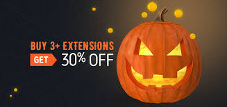 Halloween Sale Sale Buy 3 Extensions And Get 30 Off