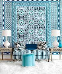 blue wallpaper u2013 the perfect piped in each room interior design