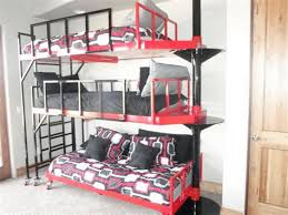 3 Tier Bunk Bed 3 Tier Bunk Beds Home Design Ideas White 3 Tier Bunk Beds Intersafe