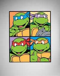 teenage mutant ninja turtles 8x10 canvas wall art things for the