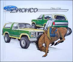bronco car 1996 ford bronco 1966 1996 by excom on deviantart