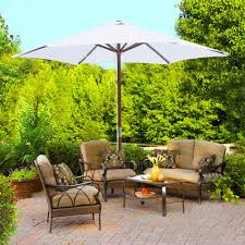 Beach Shade Umbrella 8ft Wood Patio Umbrella Garden Yard Cafe Pool Outdoor Party Beach