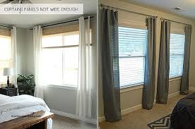 Installing Curtain Rod Hanging Curtain Rods Above Window Frame Www Elderbranch
