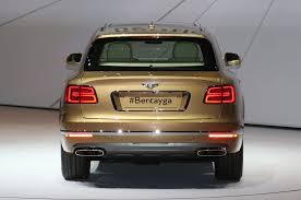bentley suv 2018 2017 bentley bentayga suv revealed ahead of frankfurt