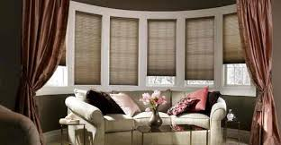 Drapes For Bay Window Pictures Superior Window Treatments For A Bow Window Part 11 Full Size
