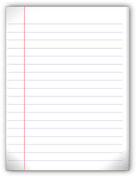 blank paper to write on ambiguity of blank paper blank lined paper and lined paper