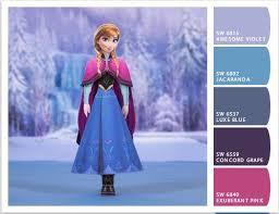 prissy design frozen colors learn colours elsa anna olaf