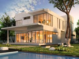 elegant house with glass walls 15 in interior decor home with
