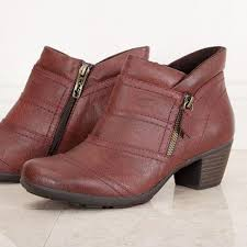 womens boots pavers relife by pavers boots for ankle boot with zip burgundy