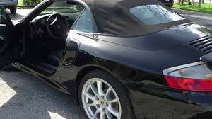 porsche 911 convertible 2005 2005 porsche 911 turbo s convertible black black youtube