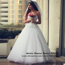 bling white rhinestone crystal sequin wedding dress corset back
