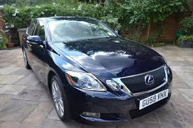 lexus hybrid uk used used lexus gs 450h 3 5 2008 4dr cvt auto leather for sale in