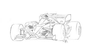 a pencil sketch of a future f1 car by renikart twitter formula1