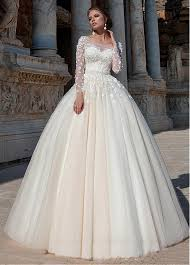 gown wedding dresses buy discount glamorous tulle scoop neckline gown wedding