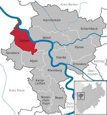 Map Of Germany With Cities And Towns In English by Xanten Wikipedia