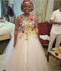 wedding gowns pictures you seen the new ankara wedding gowns waves