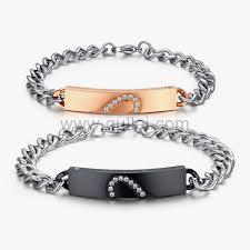 custom necklaces for couples design customized bracelets couples promise