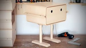 cute and playful table that is inspired by robot u2013 gobi home