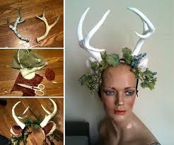 Deer Antlers Halloween Costume 90 Headbands Images Headdress Antlers