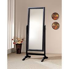 Floor Mirrors For Bedroom by Coaster Furniture Beveled Floor Mirror 28w X 72h In Hayneedle