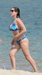kelly brook bikini pics brook bikini candids on a beach in mykonos greece september 2014