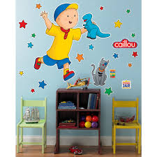 caillou birthday invitations caillou giant wall decals birthdayexpress com