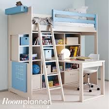 bureau sous mezzanine composition lit mezzanine enfant liso bureau et rangements asoral