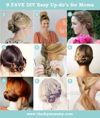 Simple But Elegant Hairstyles For Long Hair by Easy Hair Style Updo Tutorials For A Busy Mom The Diy Mommy