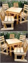 Patio Furniture Pallets - creative diy ideas with reclaimed wood pallets pallet ideas
