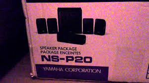 yamaha yht 299 home theater system yamaha htr 2866 ns p20 youtube