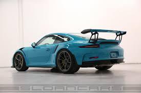 miami blue porsche gt3 rs 2016 991 gt3rs sloan cars