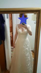 dress regret worried my dress doesn u0027t fit my venue weddingbee