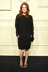 julianne moore wore light up heels to a chanel show racked