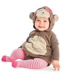 Baby Halloween Costumes 3 6 Months Monkey Halloween Costume Carters