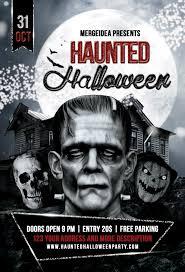 kids halloween party flyers halloween party flyer