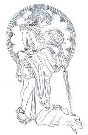 queen of hades outline picture queen of hades outline image