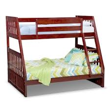 samba full full futon bunkbed matte black value city furniture