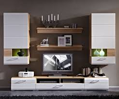 Wohnzimmerschrank In Eiche Anbauwand Weiss Hochglanz Set Finden Sie Ihre Wohnung Dekor Stil